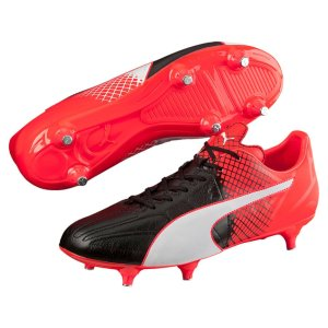 Puma - evoSPEED 3.5 LTH SG Black / White / Red
