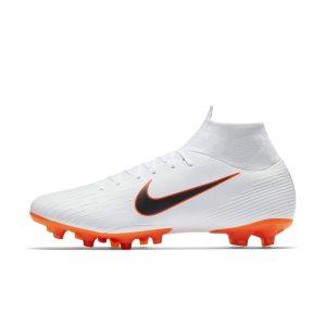 Scarpa da calcio per campi in erba artificiale Nike Mercurial Superfly VI Pro AG-PRO - Bianco