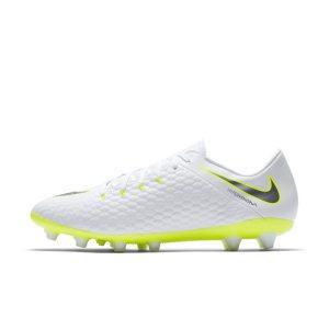 Scarpa da calcio per erba artificiale Nike Hypervenom III Academy AG-PRO - Bianco