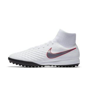 Scarpa da calcio per erba sintetica Nike MagistaX Obra II Academy Dynamic Fit - Bianco