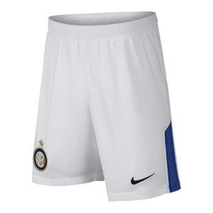 Shorts da calcio 2017/18 FC Internazionale Stadium Home/Away - Ragazzi - Bianco
