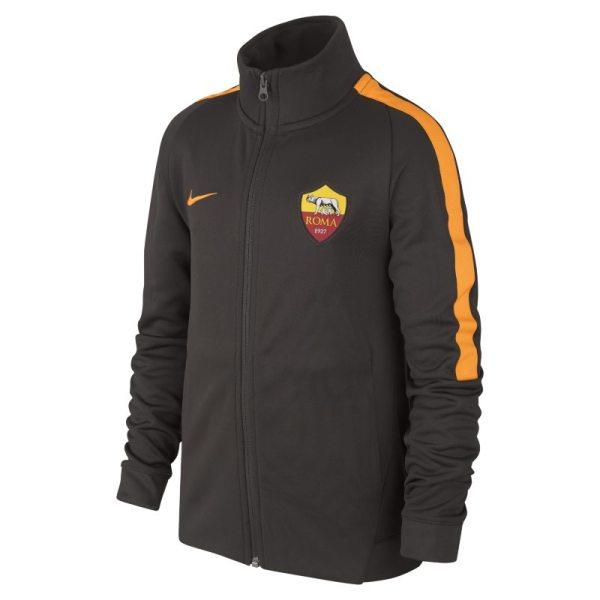Track jacket A.S. Roma Authentic N98 - Ragazzi - Marrone