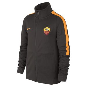 Track jacket A.S. Roma Authentic N98 - Ragazzi - Marrone