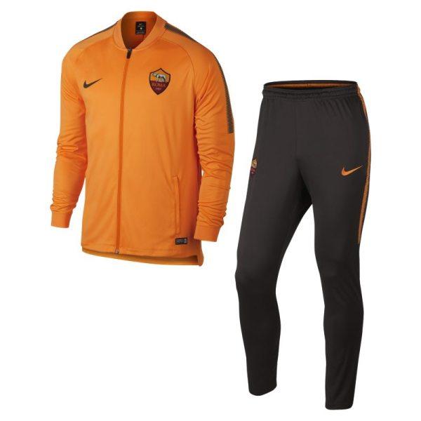 Tuta da calcio A.S. Roma Dri-FIT Squad - Uomo - Arancione