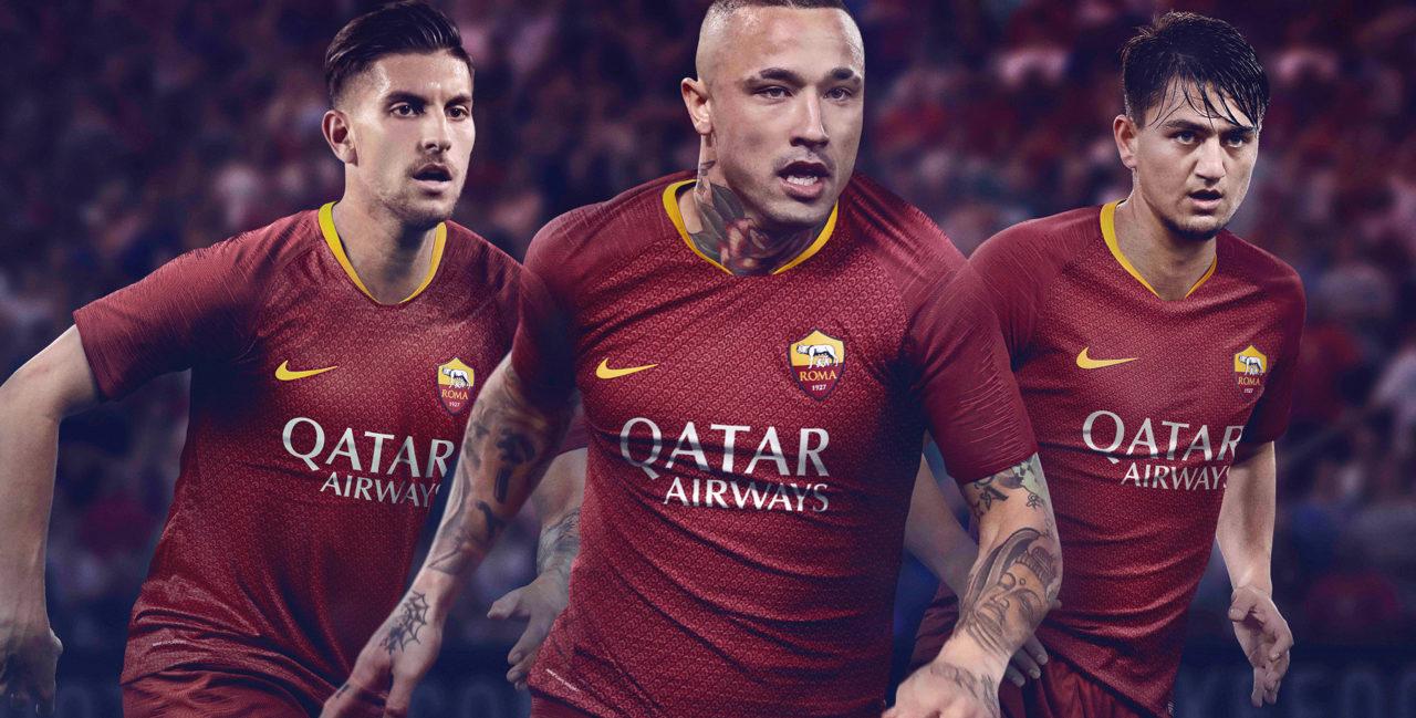Maglia Roma 2019 – Nike crea un'armatura!