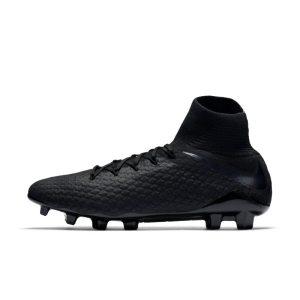 Scarpa da calcio per terreni duri Nike Hypervenom III Pro Dynamic Fit - Nero