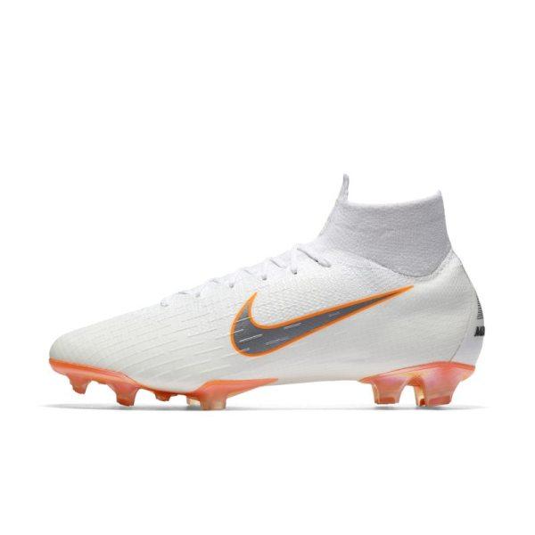 Scarpa da calcio per terreni duri Nike Mercurial Superfly 360 Elite Just Do It - Bianco