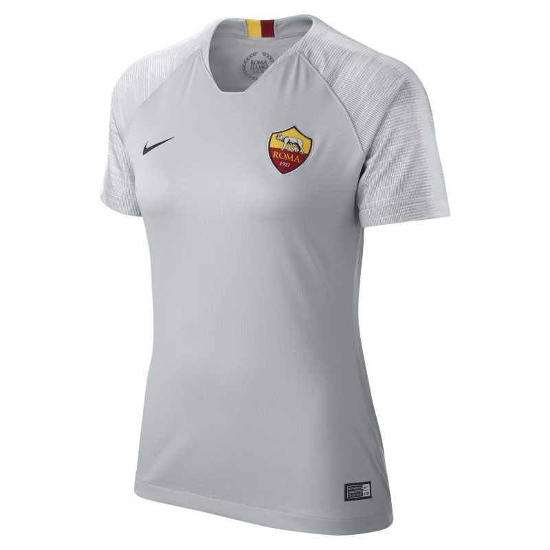 Maglia da calcio 2018/19 A.S. Roma Stadium Away - Donna - Grigio - Scarpini Mania.com