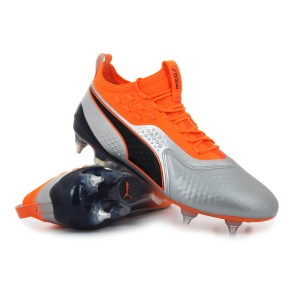 Puma - ONE 1 Lth Mx SG Shocking Orange Uprising Pack