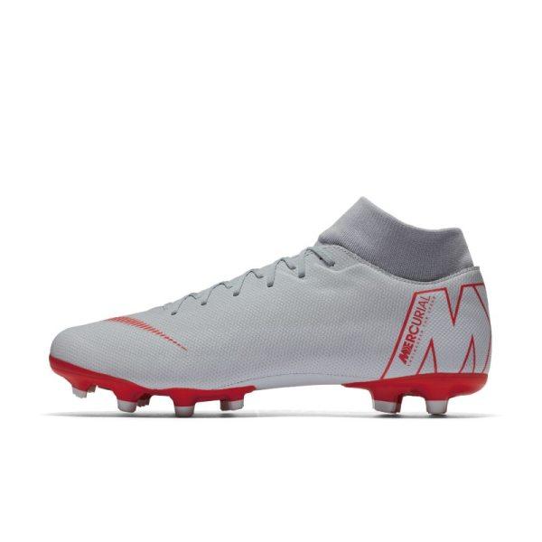 Scarpa da calcio multiterreno Nike Mercurial Superfly VI Academy MG - Grigio