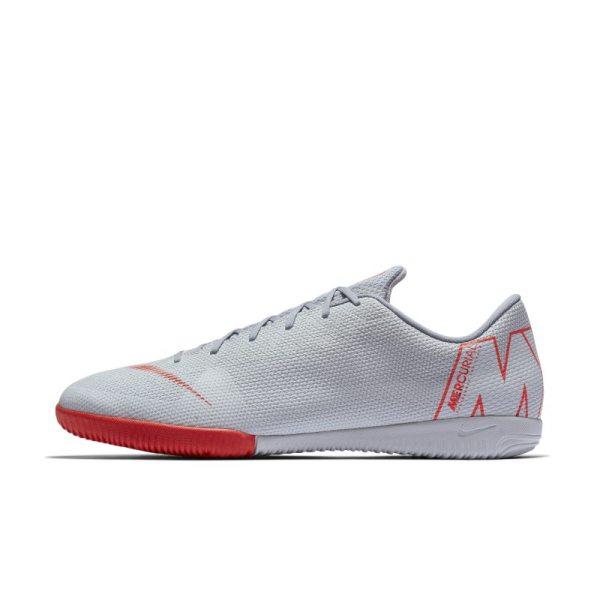 Scarpa da calcio per campi indoor Nike MercurialX Vapor XII Academy - Grigio