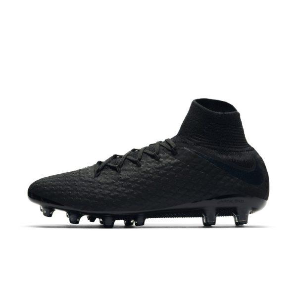 Scarpa da calcio per erba artificiale Nike Hypervenom III DG AG-PRO - Nero