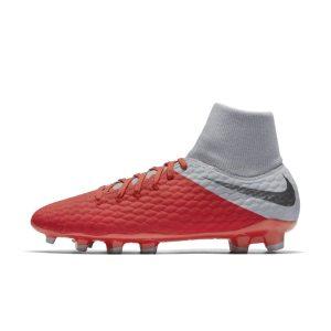 Scarpa da calcio per terreni duri Nike Hypervenom Phantom III Academy Dynamic Fit - Red