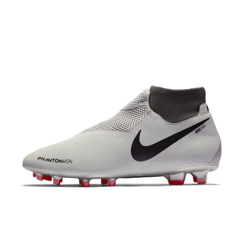 Scarpa da calcio per terreni duri Nike Phantom Vision Pro Dynamic Fit - Silver