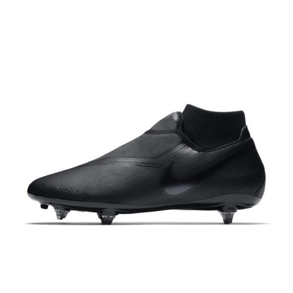 Scarpa da calcio per terreni morbidi Nike Phantom Vision Academy Dynamic Fit - Nero