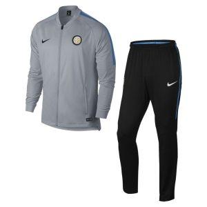 Tuta da calcio Inter Dri-FIT Squad - Uomo - Grigio