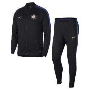 Tuta da calcio Inter Dri-FIT Squad - Uomo - Nero