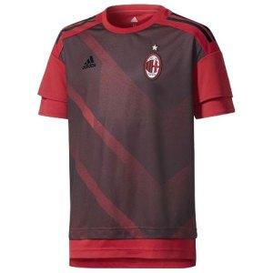 adidas - JUNIOR Milan Maglia Pre-Match Ufficiale 2017-18