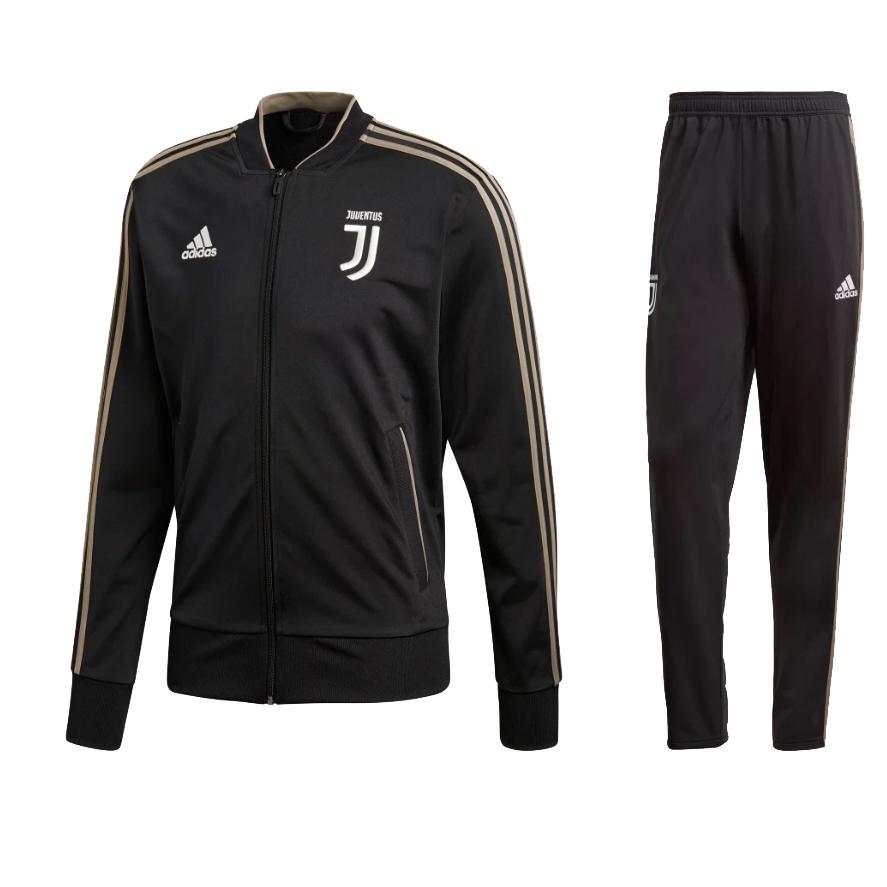 adidas - Juventus Tuta Ufficiale 2018-19 Nera