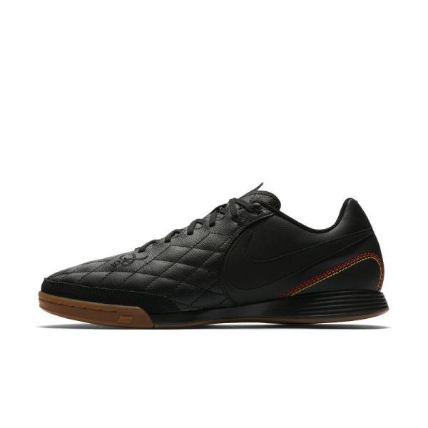 Scarpa da calcio per campi indoor Nike TiempoX Ligera IV 10R IC - Nero
