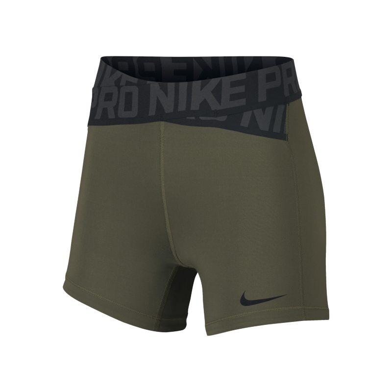 Shorts 12,5 cm Nike Pro Intertwist - Donna - Verde