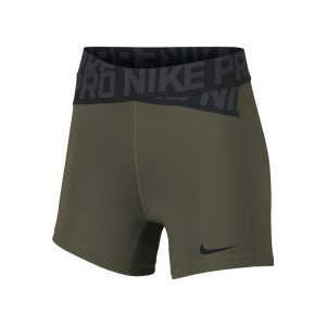 Shorts 12,5 cm Nike Pro Intertwist - Donna - Verde