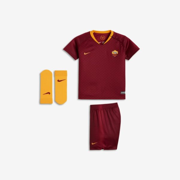 Divisa da calcio 2018/19 A.S. Roma Stadium Home - Neonati - Red