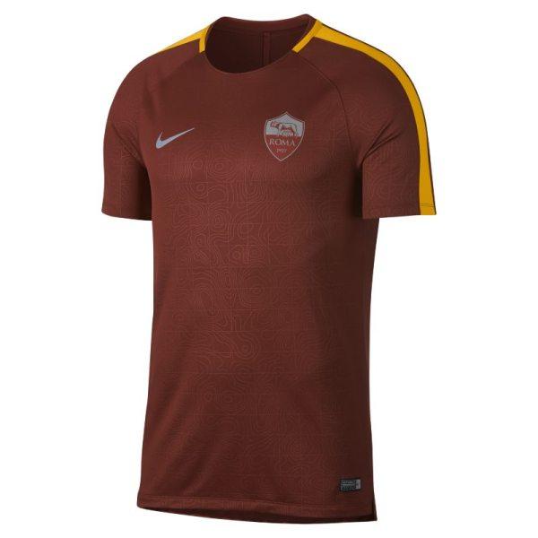Maglia da calcio a manica corta A.S. Roma Dri-FIT Squad - Uomo - Marrone
