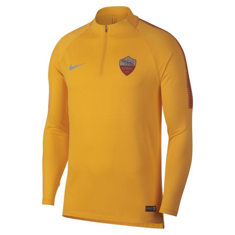 Maglia da calcio a manica lunga A.S. Roma Dri-FIT Squad Drill - Uomo - Gold