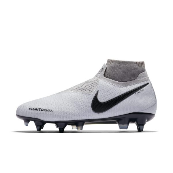 Scarpa da calcio Nike Phantom Vision Elite Dynamic Fit Anti-Clog SG-PRO - Silver