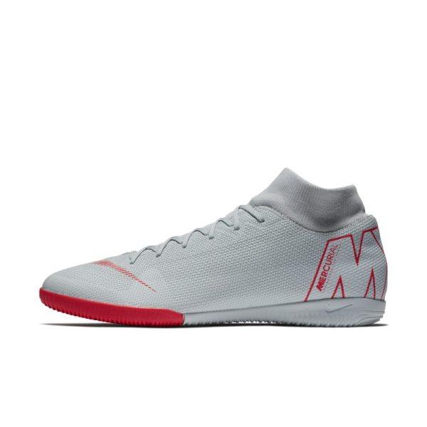 Scarpa da calcio per campi indoor Nike MercurialX Superfly VI Academy IC - Grigio
