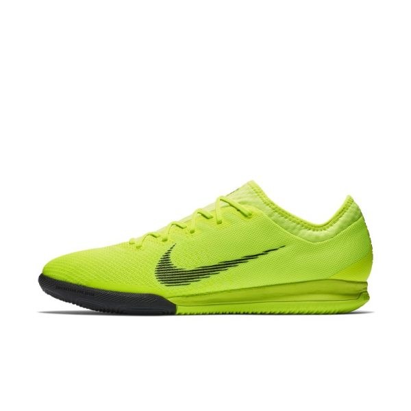 Scarpa da calcio per campi indoor Nike MercurialX Vapor XII Pro - Giallo