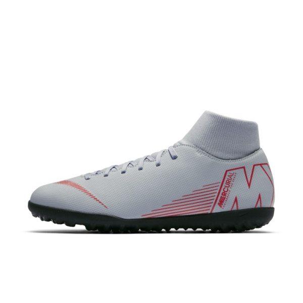 Scarpa da calcio per erba sintetica Nike MercurialX Superfly VI Club - Grigio