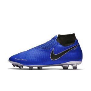 Scarpa da calcio per terreni duri Nike Phantom Vision Pro Dynamic Fit - Blu