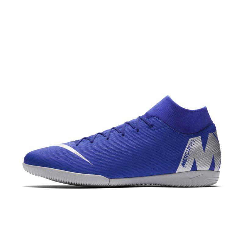 Scarpa da calcio per campi indoor Nike MercurialX Superfly VI Academy IC - Blu