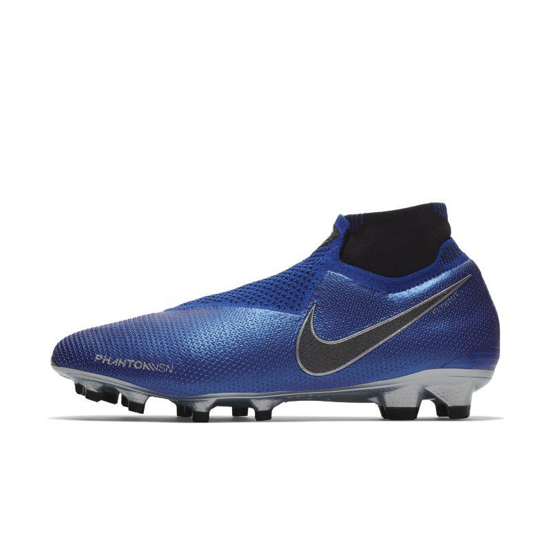 Scarpa da calcio per terreni duri Nike Phantom Vision Elite Dynamic Fit - Blu