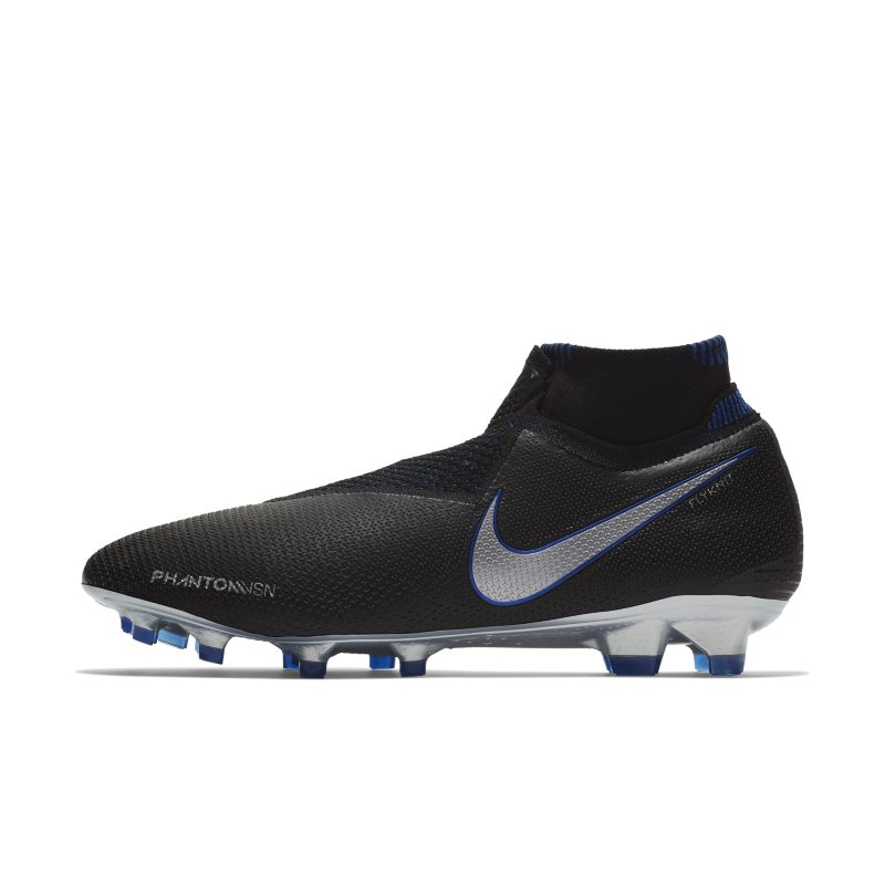 Scarpa da calcio per terreni duri Nike Phantom Vision Elite Dynamic Fit - Nero