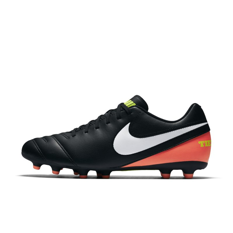 Scarpa da calcio per terreni duri Nike Tiempo III - Nero