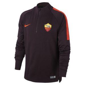 Maglia da calcio a manica lunga A.S. Roma Dri-FIT Squad Drill - Ragazzi - Red