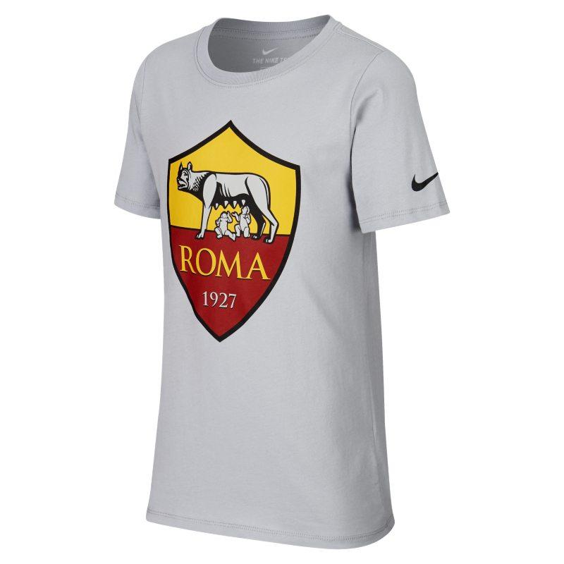T-shirt A.S. Roma - Ragazzi - Grigio
