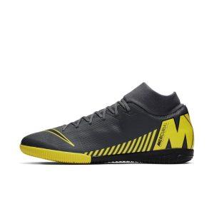 Scarpa da calcio per campo indoor/cemento Nike SuperflyX 6 Academy IC - Grigio