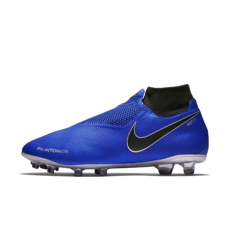 Scarpa da calcio per terreni duri Nike Phantom Vision Pro Dynamic Fit FG - Blu