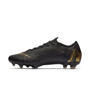 Scarpa da calcio per terreni duri Nike Vapor 12 Elite FG - Nero