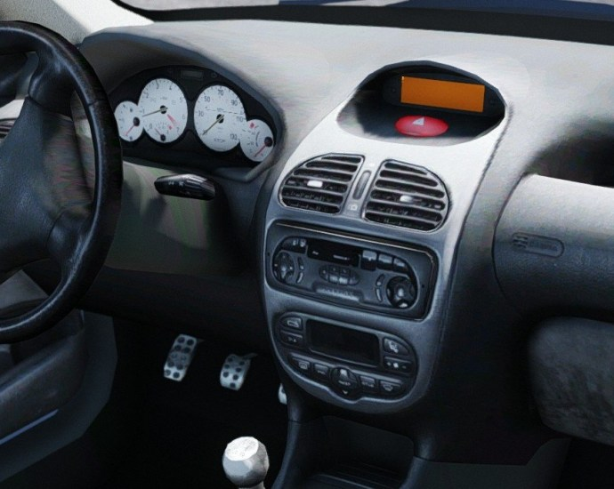 automobile usata 206