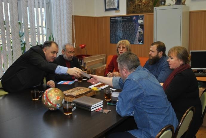 La Società Spaziale Russa in Italia incontra Stern Leonid Mikhailovich