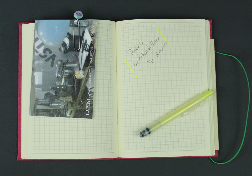 Planer Charm für ein Notizbuch