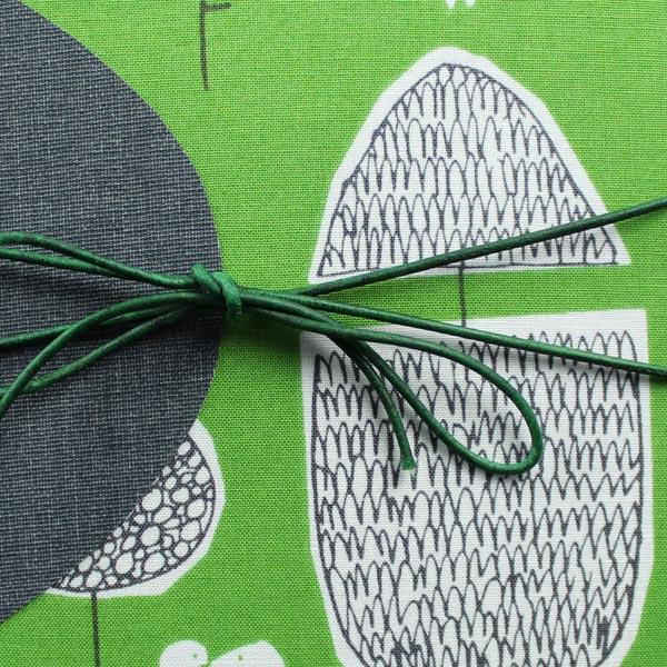 Schwangerschaftstagebuch grün weiß schwarz