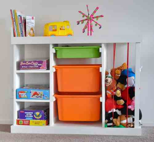 DIY Toy organizer