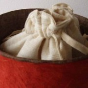 natural burial urn cremation ashes bag