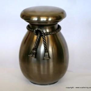 metal urns ashes